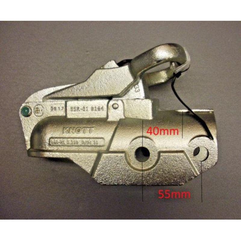 Kuglekobling 3500Kg Knott Avonride Typ 1 Ø60mm