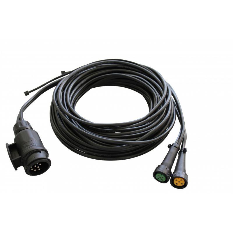 Kabelsæt Aspöck 13 Polet 4,5m Med Pos. Lys