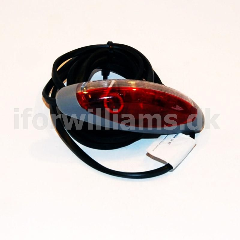 Markeringslygte Ifor Williams Hvid/rød