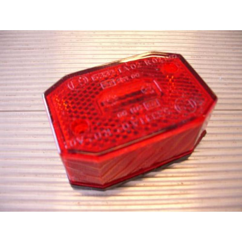 Markeringslygte – Flexipoint, Rød