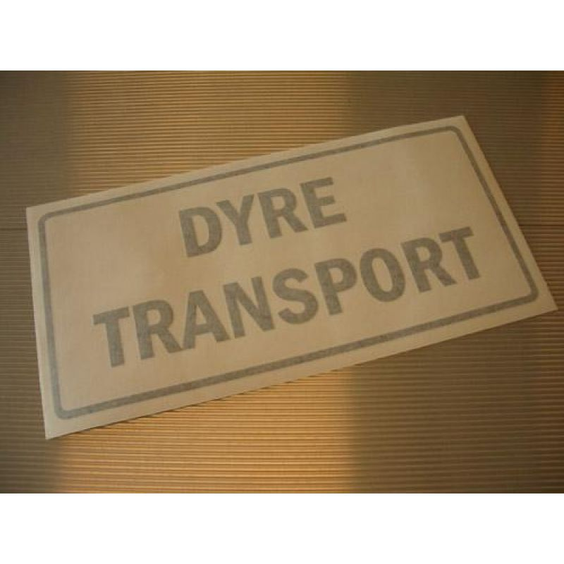 Transfer – Dyre Transport