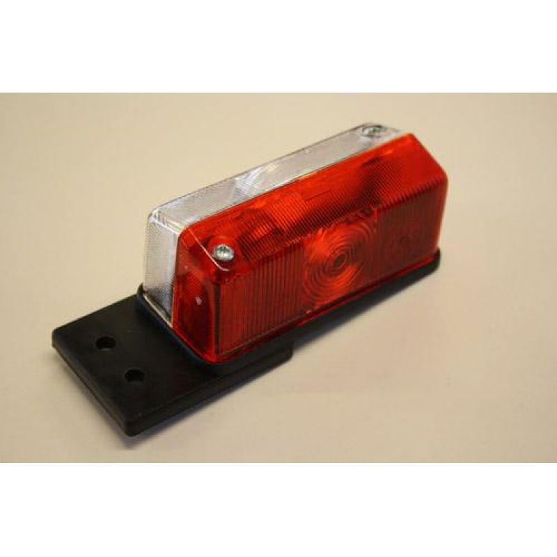 Markeringslygte – Radex 925, Rød/Hvid Med Lige Holder