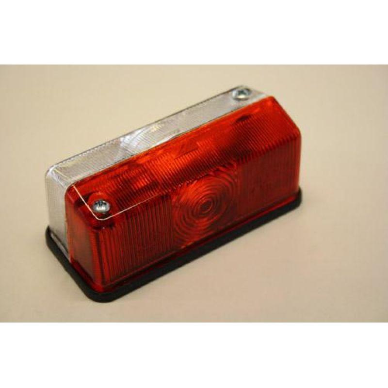 Markeringslygte – Radex 925, Rød/Hvid