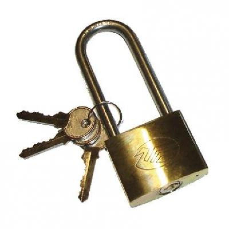 Hængelås – Med 3 Nøgler