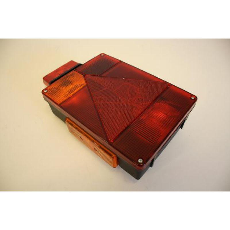 Radex 6800 – Venstre Med Rød/hvid Toplys Og Gul Sidemarkering