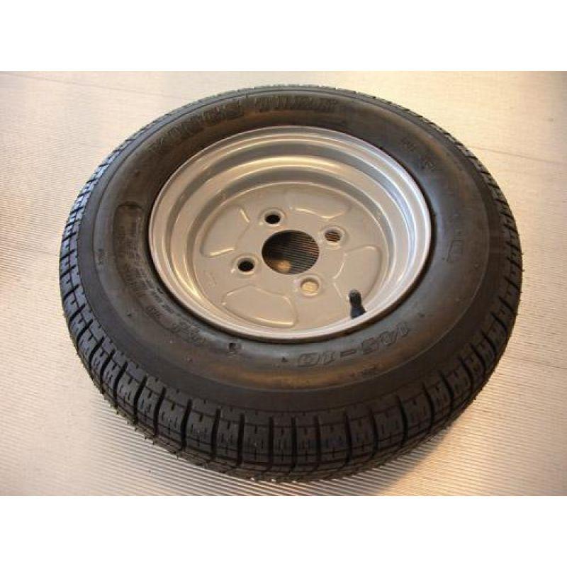 4 Stk. Hjul 10″ – 145 X 10