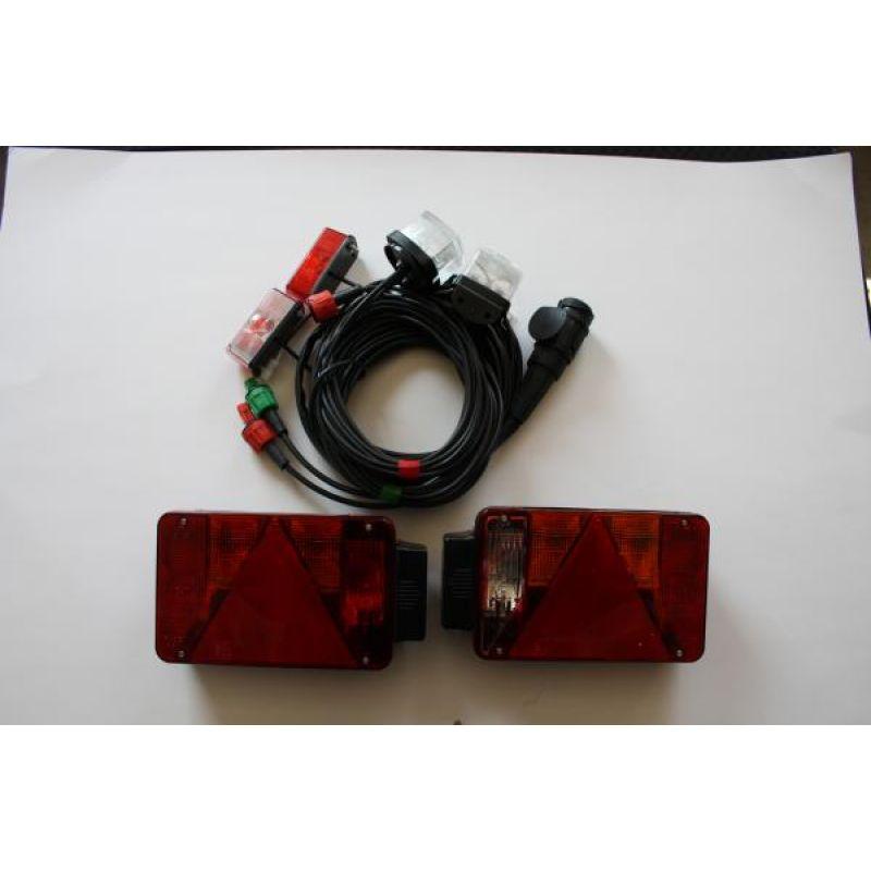 Radex 5800 Lygtesæt Lygtesæt Med Positionslygter Og Markeringslygter