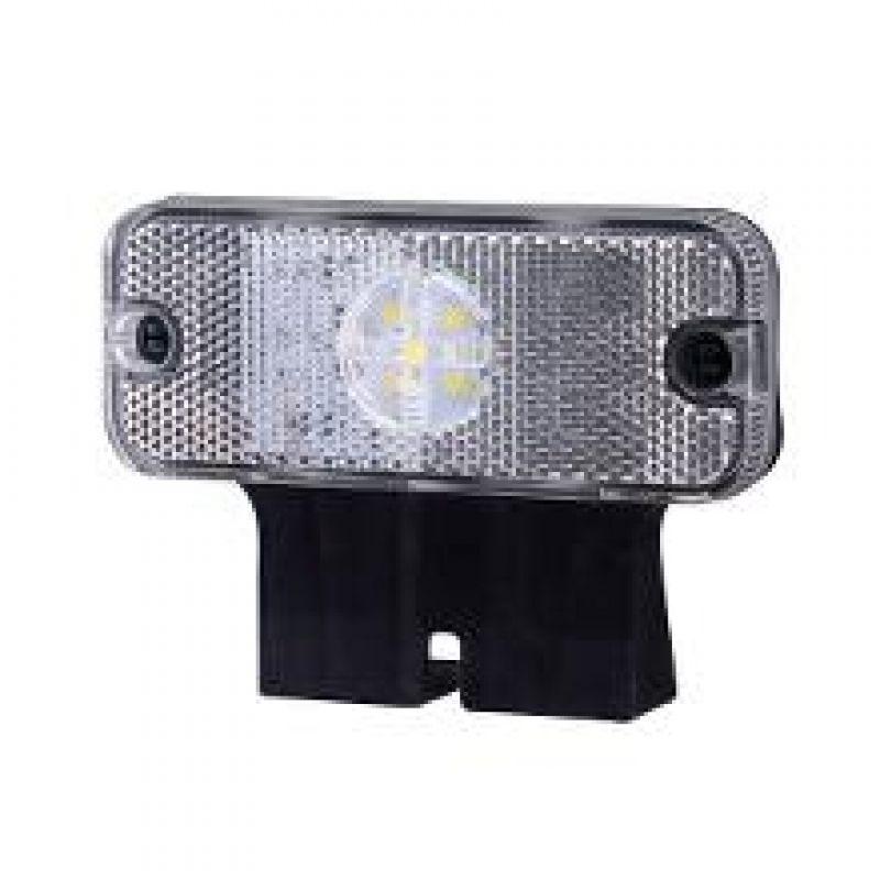 Markeringslygte Hvid LED