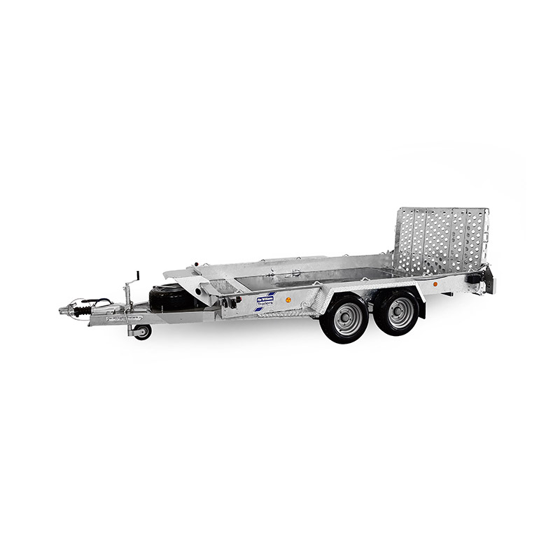 Ifor Williams GH126BT Maskintrailer