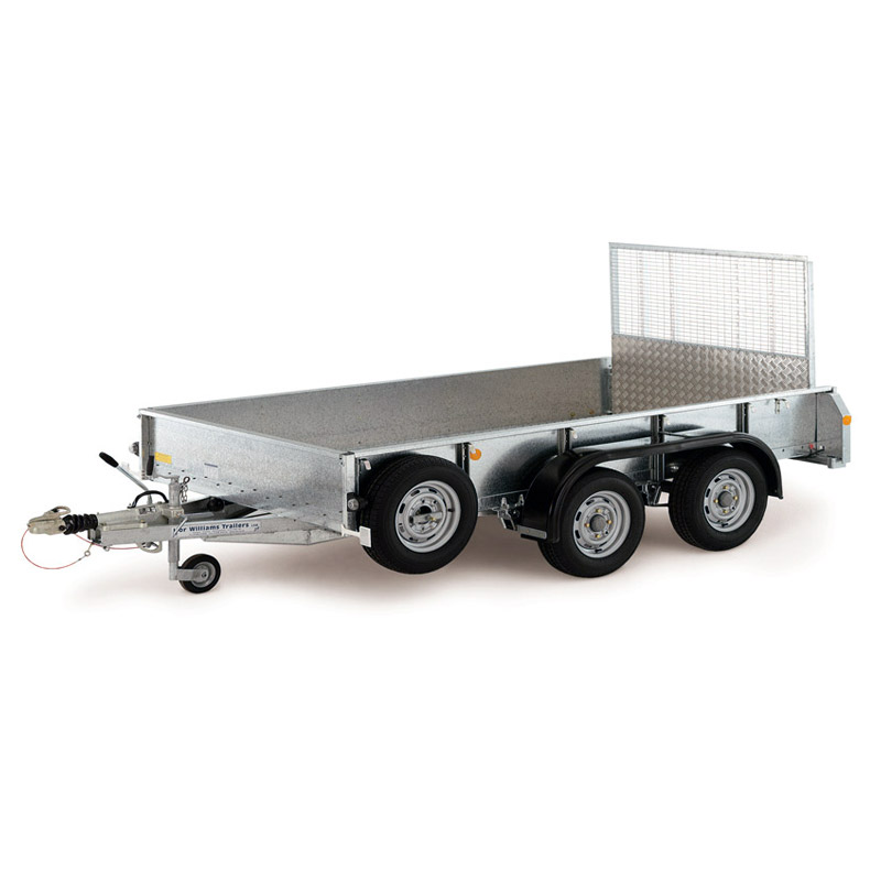 Ifor Williams GD125 Maskintrailer