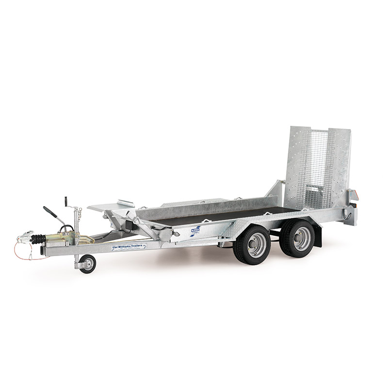 Ifor Williams GH94 Maskintrailer